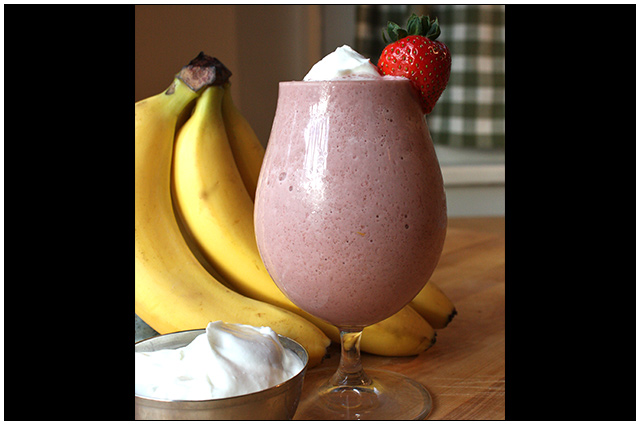 Greek Strawberry-Banana Shakeology