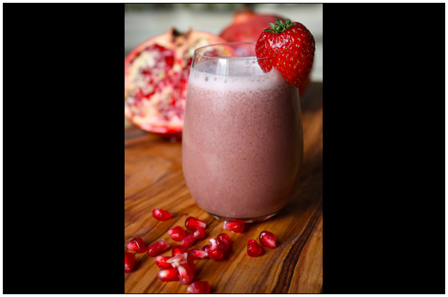 Strawberry Pomegranate Shakeology