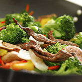 Stir-Fried Meat and Vegetables